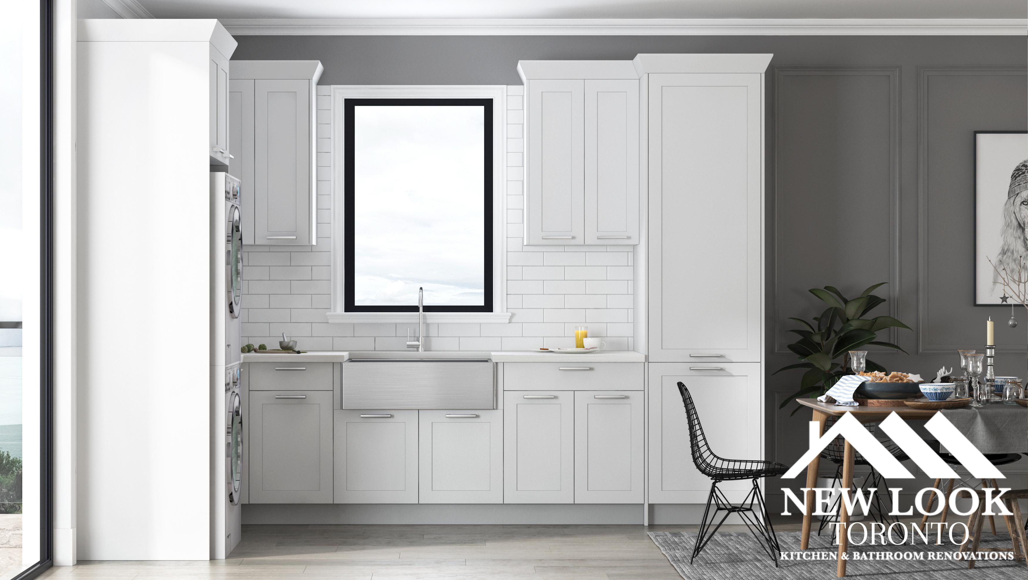 Sink under cabinet in New Look Toronto Kitchen & Bathroom Renovation