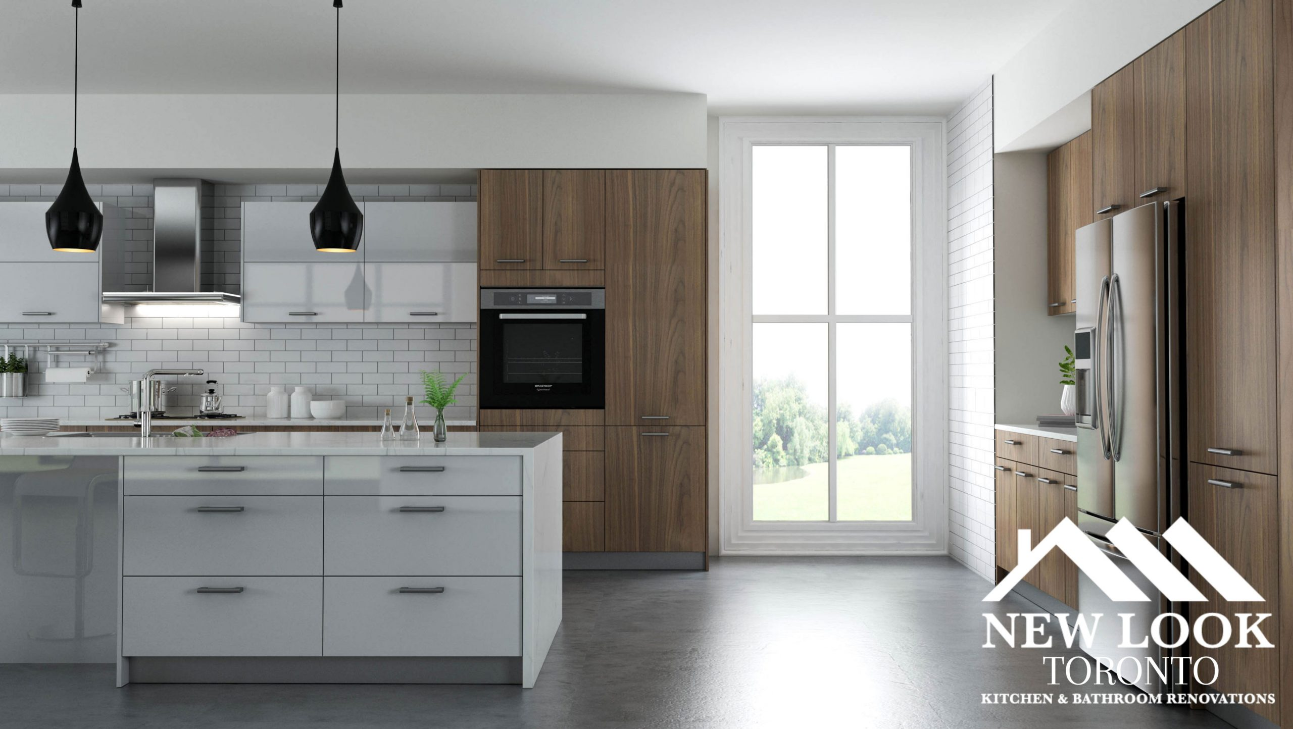 wall oven cabinets