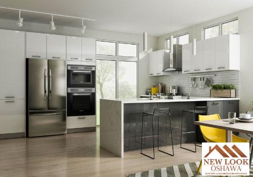 Cabinetry by New Look Oshawa Kitchen & Bathroom Renovation
