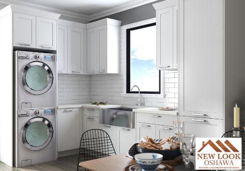 Maple wood kitchen and bath cabinets