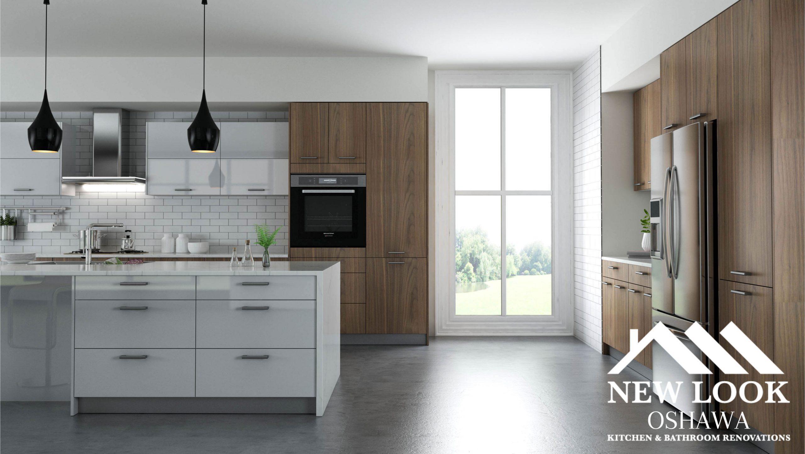 rustic oak golden home new look oshawa kitchen & bathroom renovation