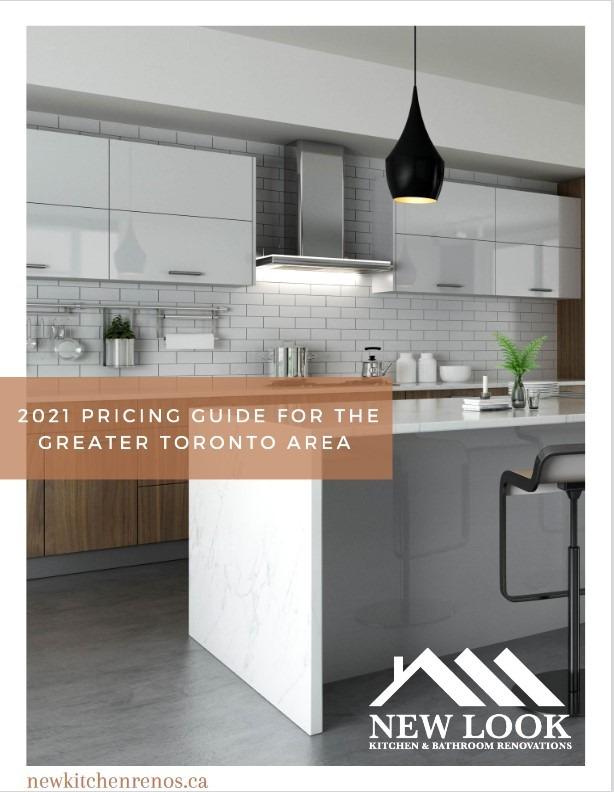 Cover photo of the 2021 New Look Kitchen pricing guide