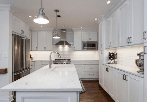 Quartz or Granite Countertops